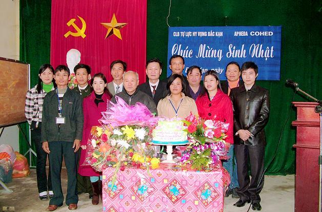 Sinh nhật lần thứ nhất của Câu lạc bộ Hy Vọng Bắc Kạn